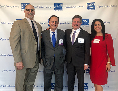 Christopher Stracco Receives Award from Legal Services of New Jersey
