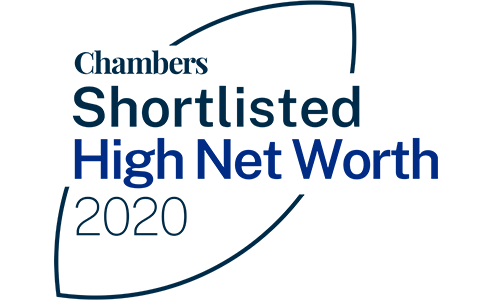 Chambers Shortlisted High Net Worth Awards