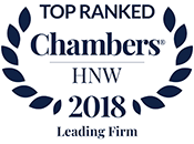 Chambers HNW 2018 - Leading Firm